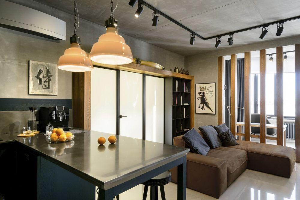 adelaparvu.com despre amenajare apartament loft 70 mp, design interior SHAR (9)