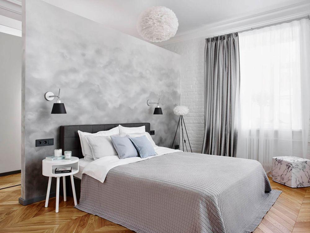 adelaparvu.com despre amenajare in stil francez apartament 72 mp, Moscova, designer Anna Kolpakova, Foto Dina Aleksandrova (18)