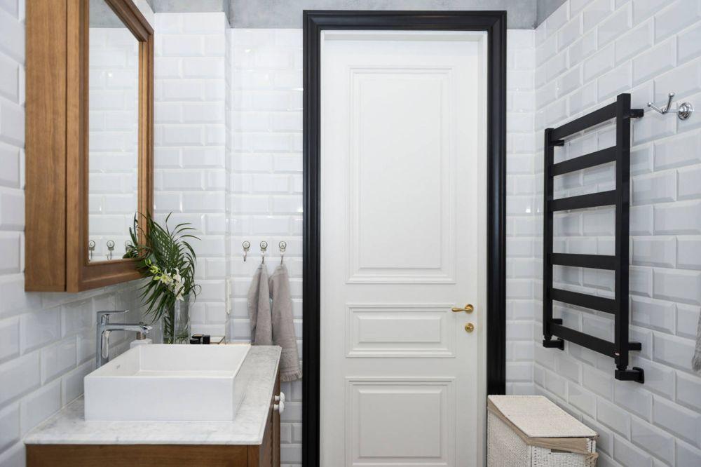 adelaparvu.com despre amenajare in stil francez apartament 72 mp, Moscova, designer Anna Kolpakova, Foto Dina Aleksandrova (5)