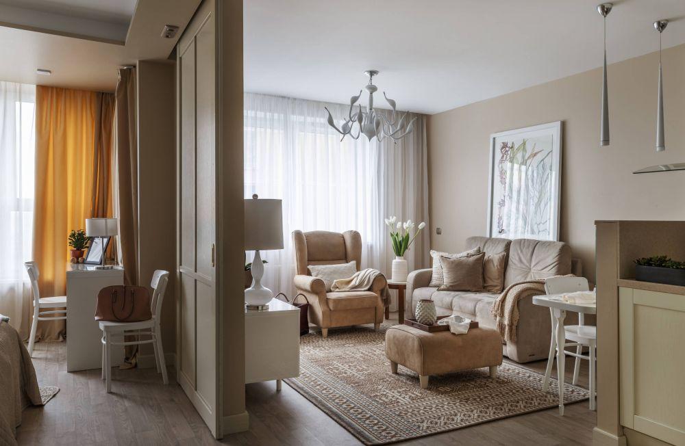 adelaparvu.com despre apartament 2 camere 50 mp, design interior SunWaveStudio, foto Sergey Krasyuk (1)