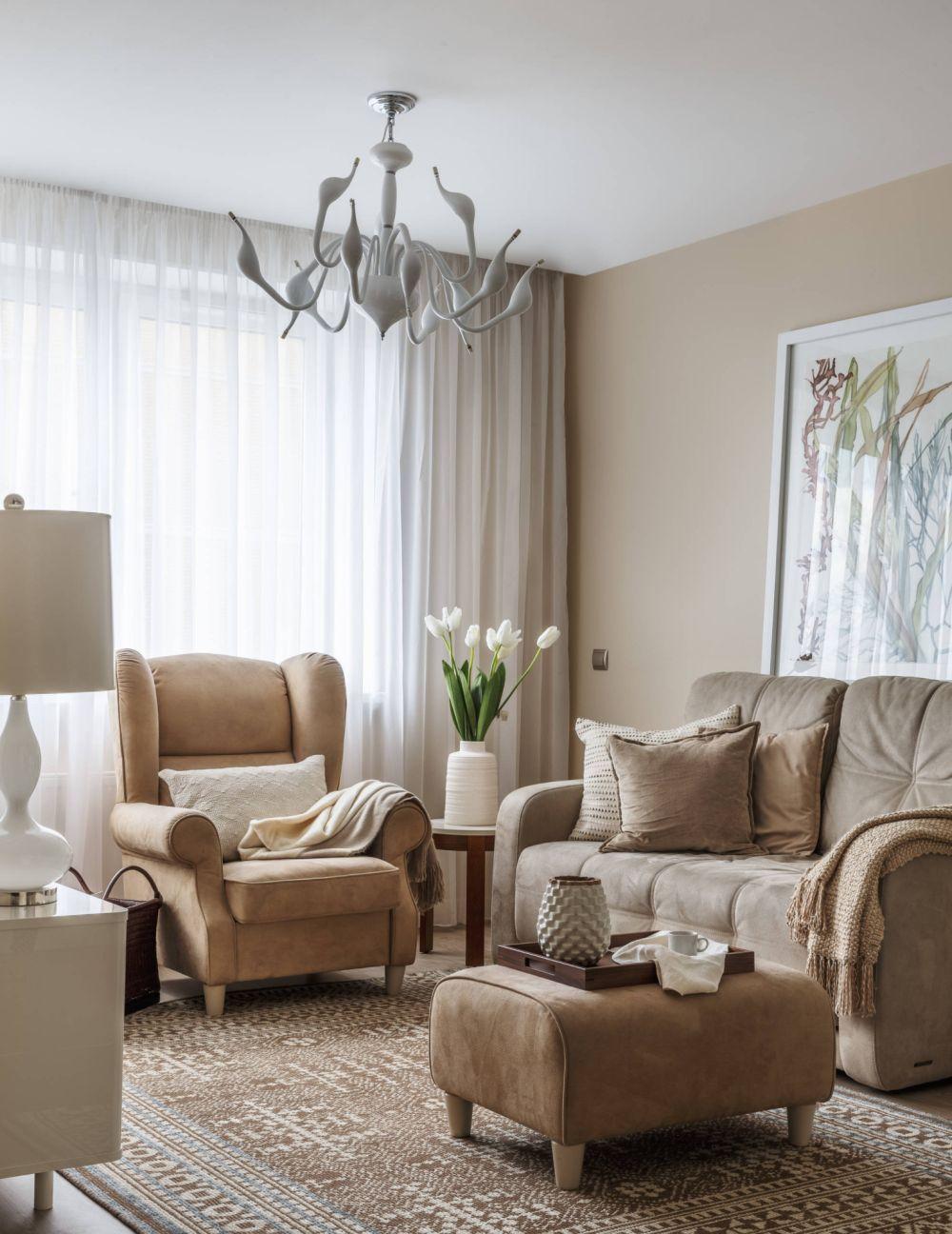 adelaparvu.com despre apartament 2 camere 50 mp, design interior SunWaveStudio, foto Sergey Krasyuk (2)