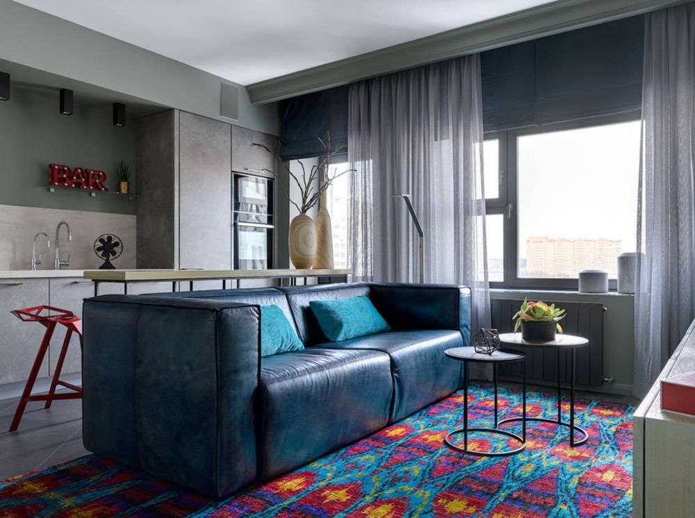 adelaparvu.com despre apartament 2 camere 57 mp, Moscova, design In-Deco, Foto Sergey Ananiev (10)