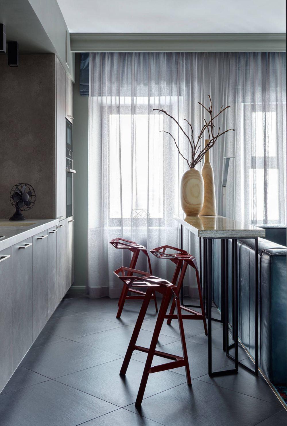 adelaparvu.com despre apartament 2 camere 57 mp, Moscova, design In-Deco, Foto Sergey Ananiev (12)