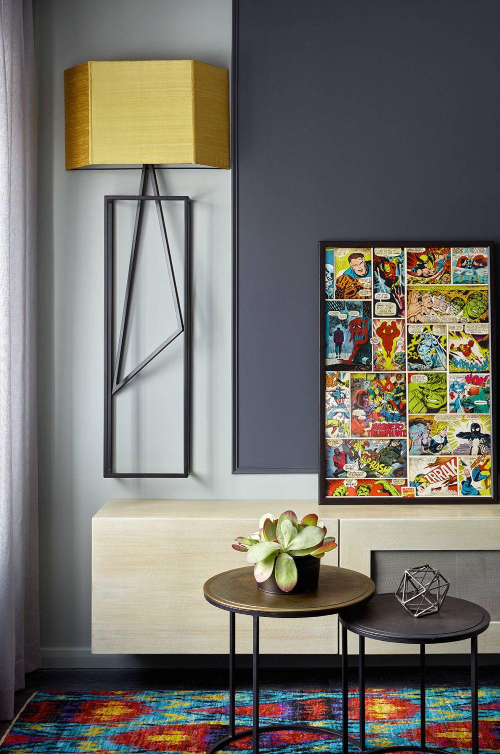 adelaparvu.com despre apartament 2 camere 57 mp, Moscova, design In-Deco, Foto Sergey Ananiev (13)