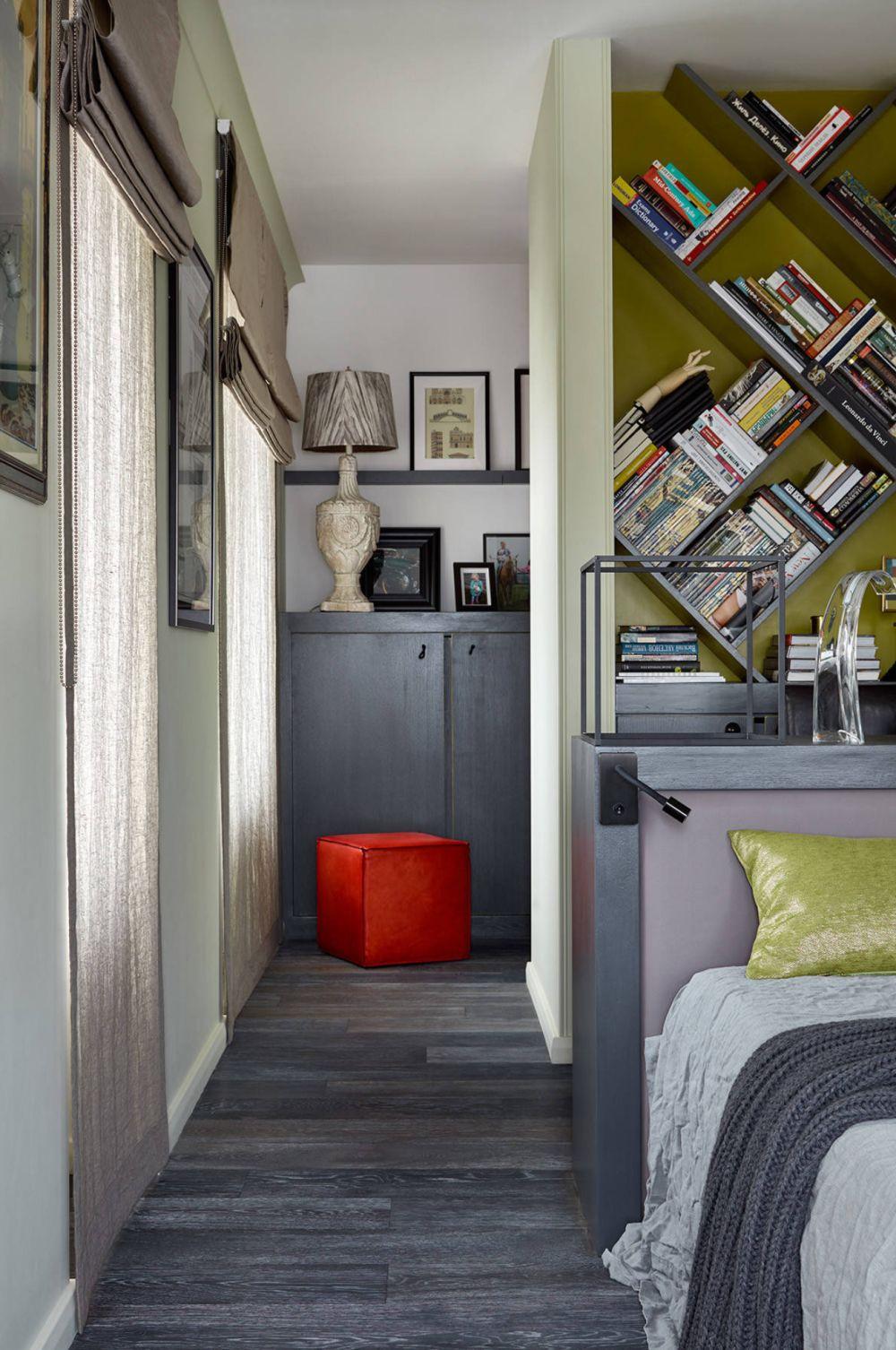 adelaparvu.com despre apartament 2 camere 57 mp, Moscova, design In-Deco, Foto Sergey Ananiev (17)