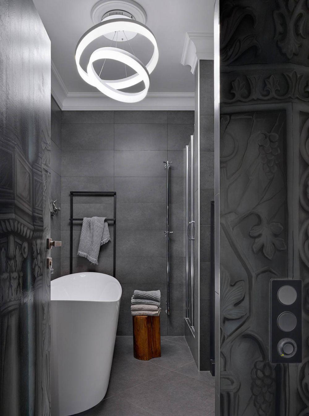adelaparvu.com despre apartament 2 camere 57 mp, Moscova, design In-Deco, Foto Sergey Ananiev (3)
