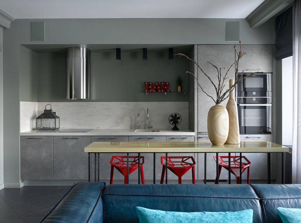 adelaparvu.com despre apartament 2 camere 57 mp, Moscova, design In-Deco, Foto Sergey Ananiev (8)