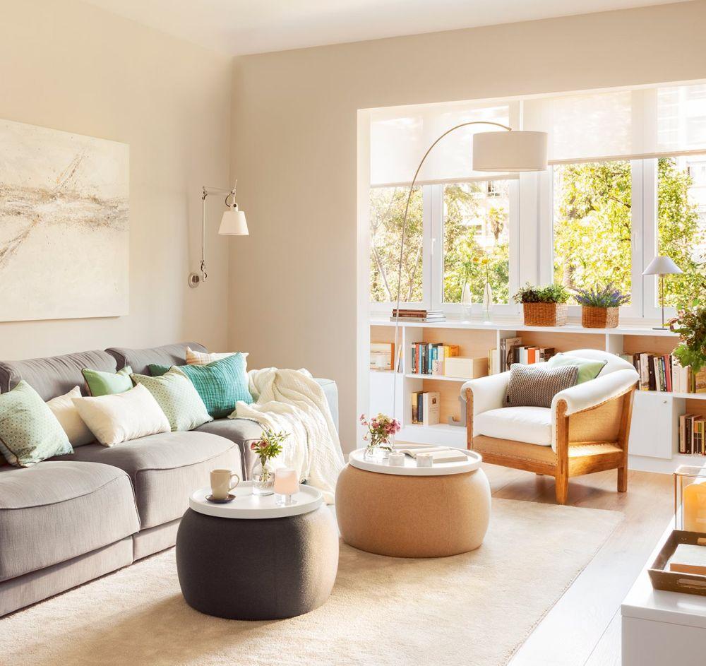 adelaparvu.com despre apartament 75 mp in tonuri deschise, designer Pia Capdevila, Foto Fernando Bedon, ElMueble (10)