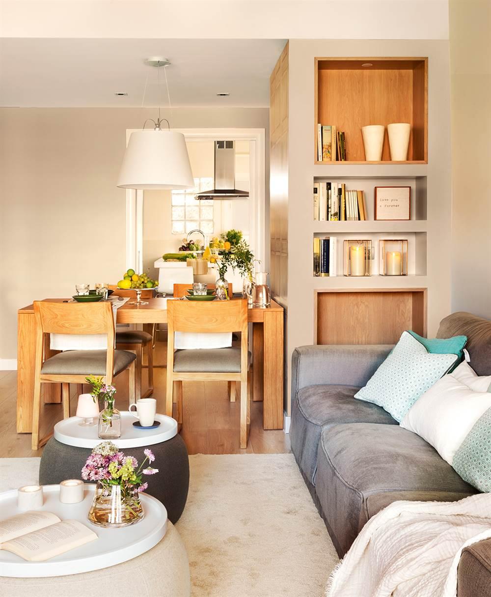 adelaparvu.com despre apartament 75 mp in tonuri deschise, designer Pia Capdevila, Foto Fernando Bedon, ElMueble (11)