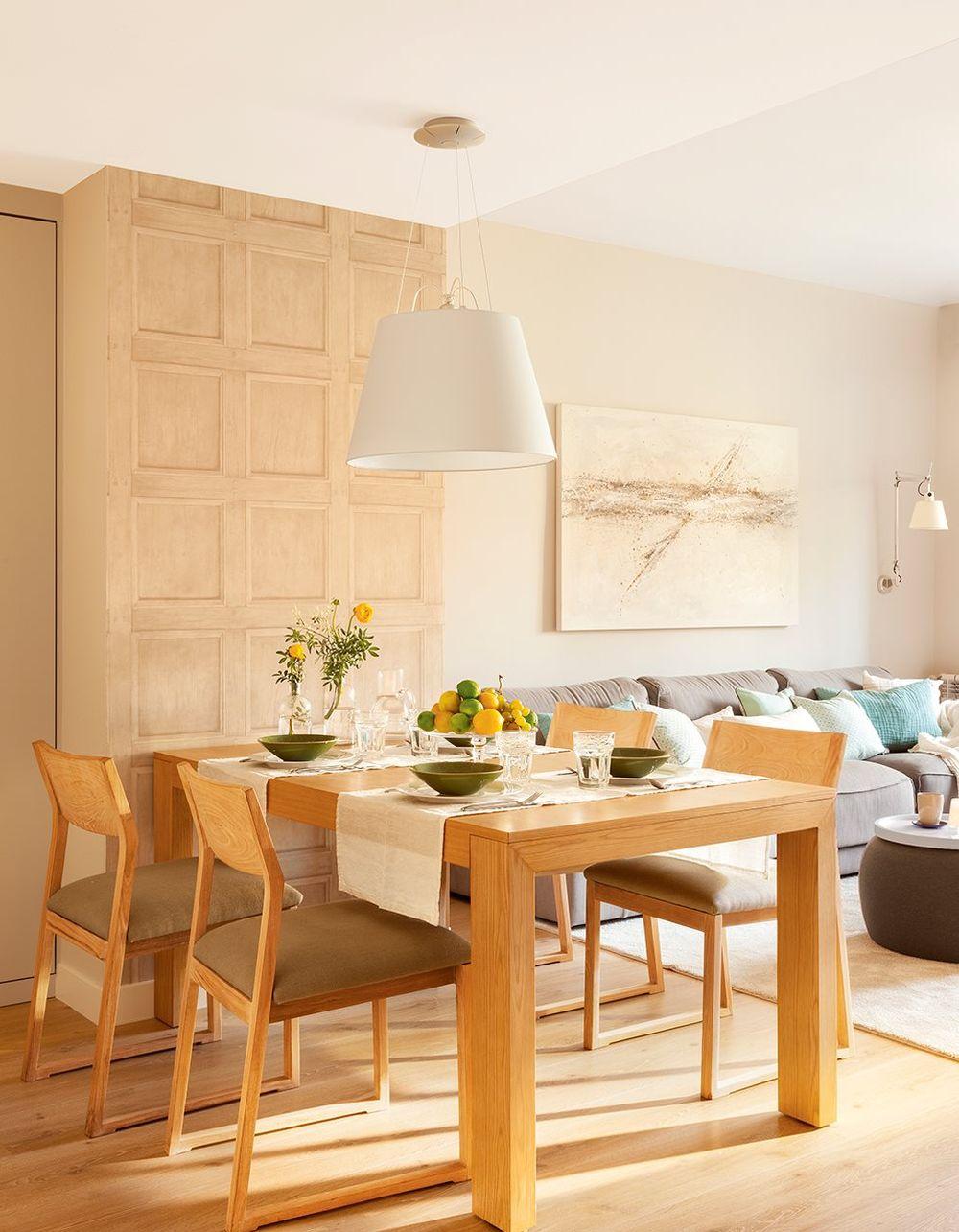 adelaparvu.com despre apartament 75 mp in tonuri deschise, designer Pia Capdevila, Foto Fernando Bedon, ElMueble (3)