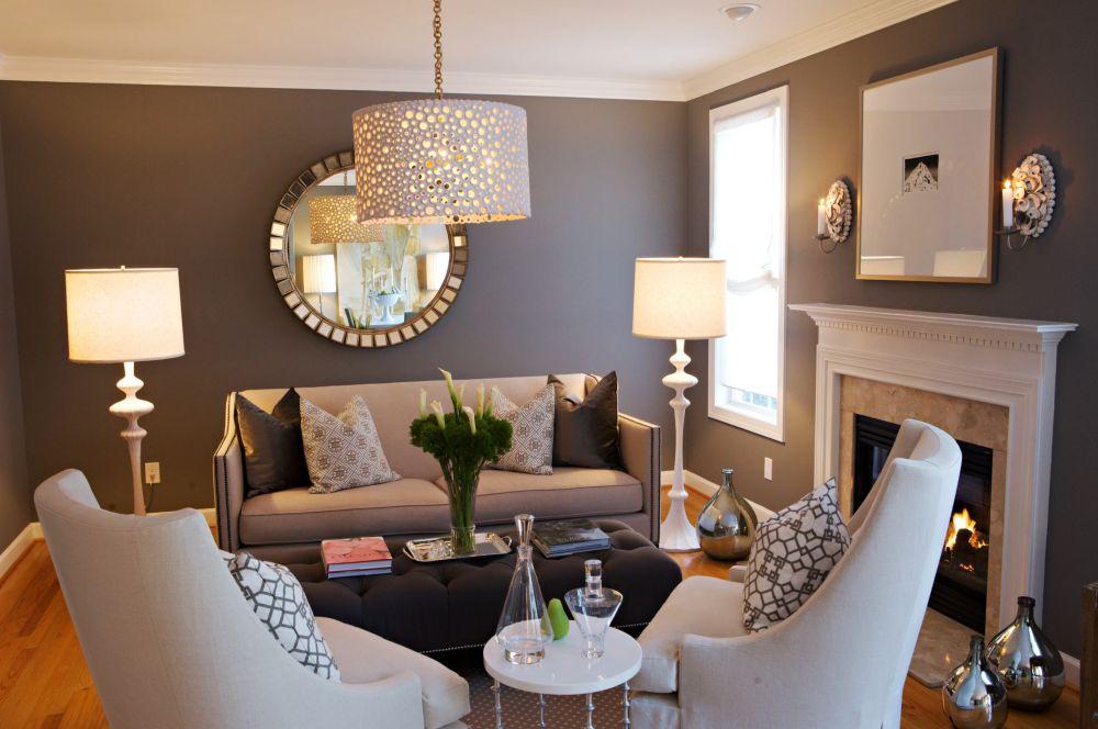 adelaparvu.com despre asezarea corpurilor de iluminat in casa, Foto Heather Garrett Design