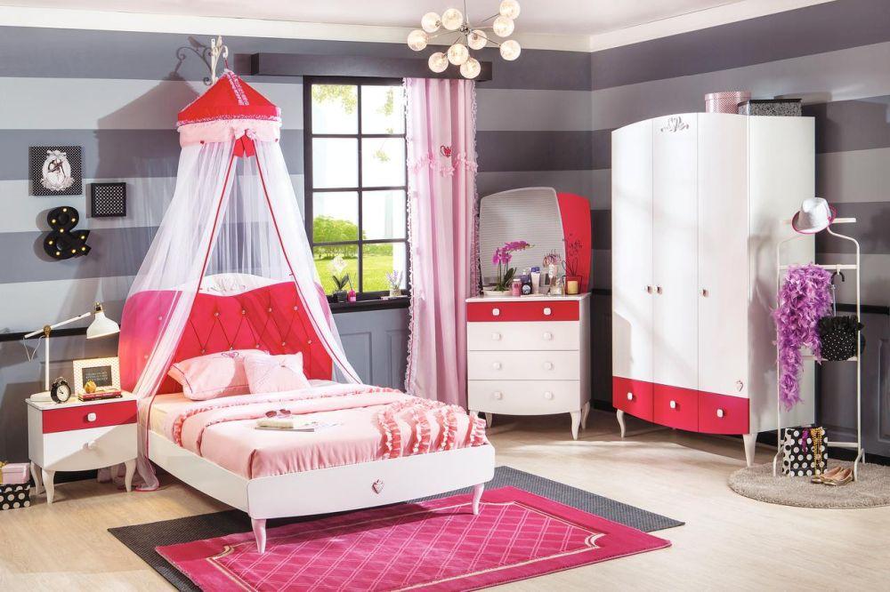 Dormitor copii Yanuk. Vezi piese componente, dimensiuni, ateriale, accesorii, preț AICI