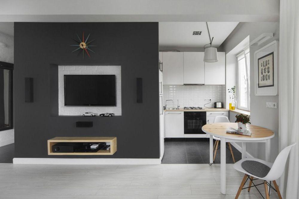 adelaparvu.com despre amenajare garsoniera 30 mp, design interior m2project (10)