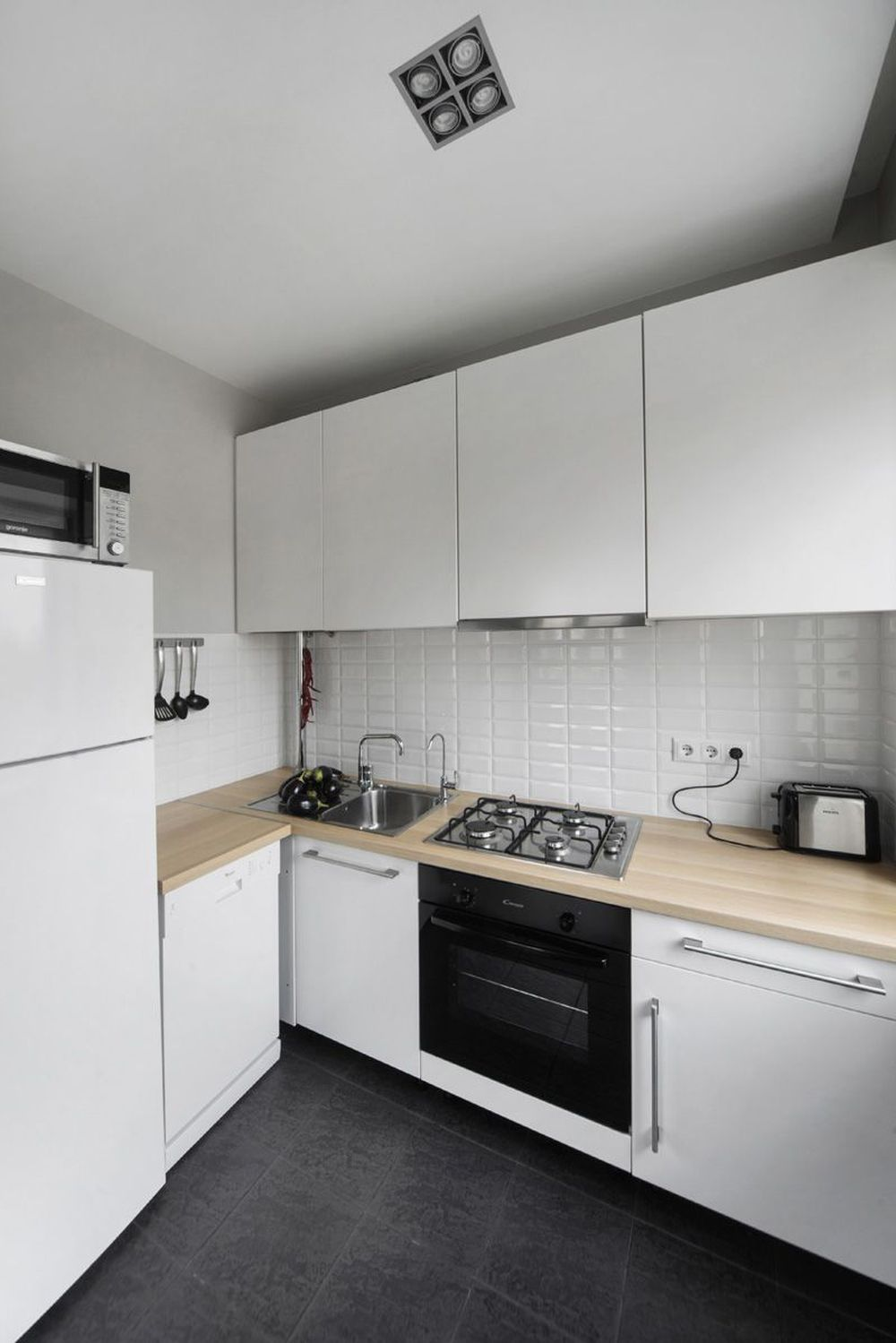 adelaparvu.com despre amenajare garsoniera 30 mp, design interior m2project (12)