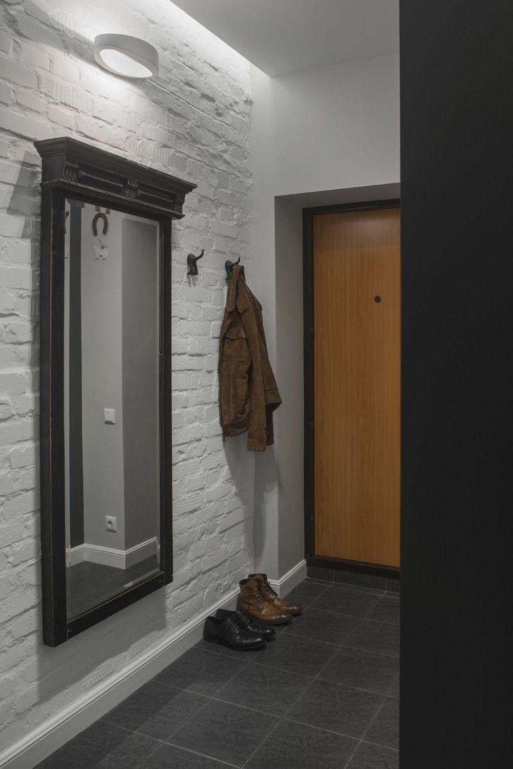 adelaparvu.com despre amenajare garsoniera 30 mp, design interior m2project (2)