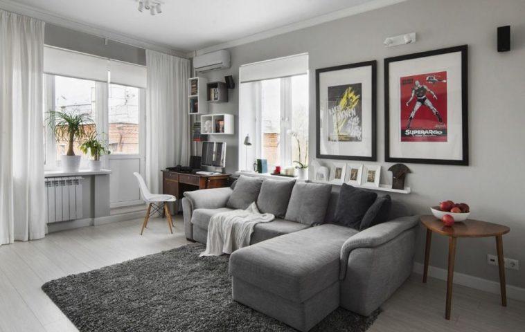adelaparvu.com despre amenajare garsoniera 30 mp, design interior m2project (5)