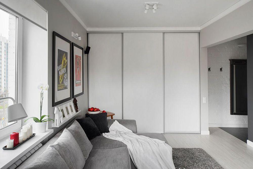 adelaparvu.com despre amenajare garsoniera 30 mp, design interior m2project (8)