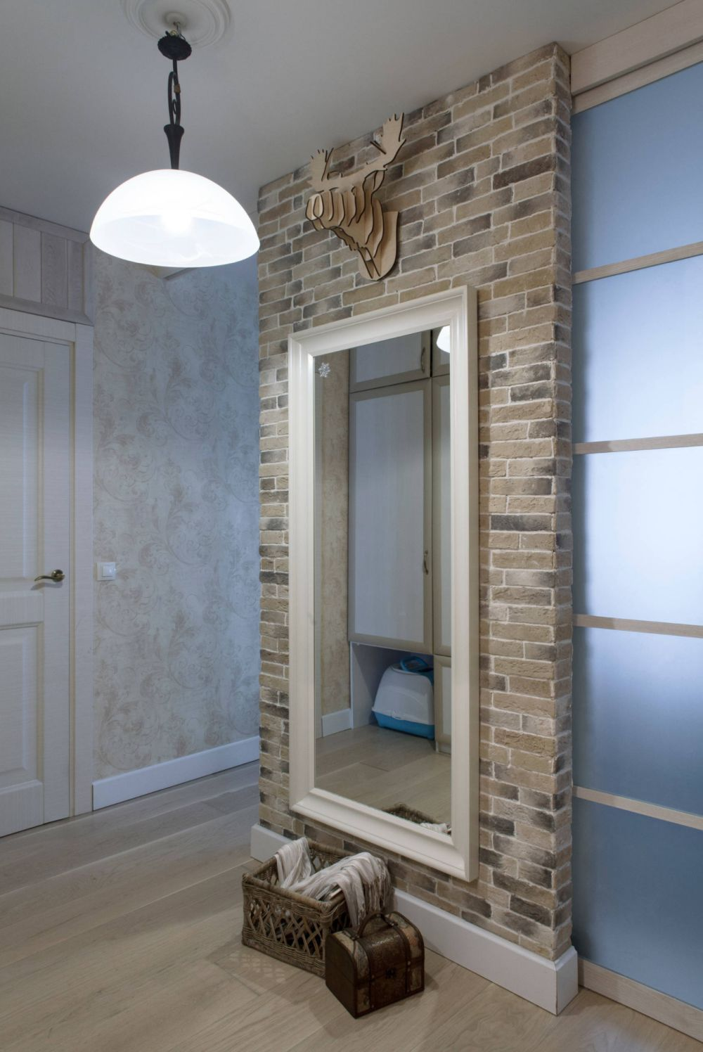 adelaparvu.com despre apartament 48 mp, stil provensal, Designer Svetlana Krasnova, Foto Natalia Kupriyanova (2)