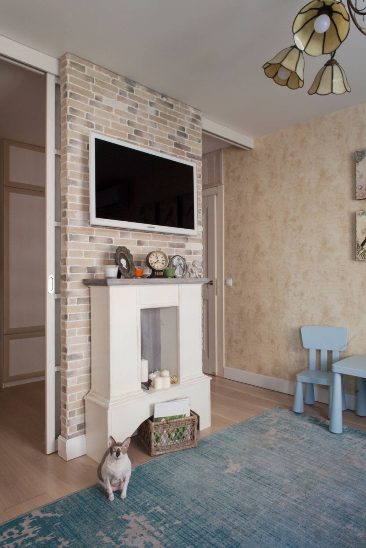 adelaparvu.com despre apartament 48 mp, stil provensal, Designer Svetlana Krasnova, Foto Natalia Kupriyanova (4)