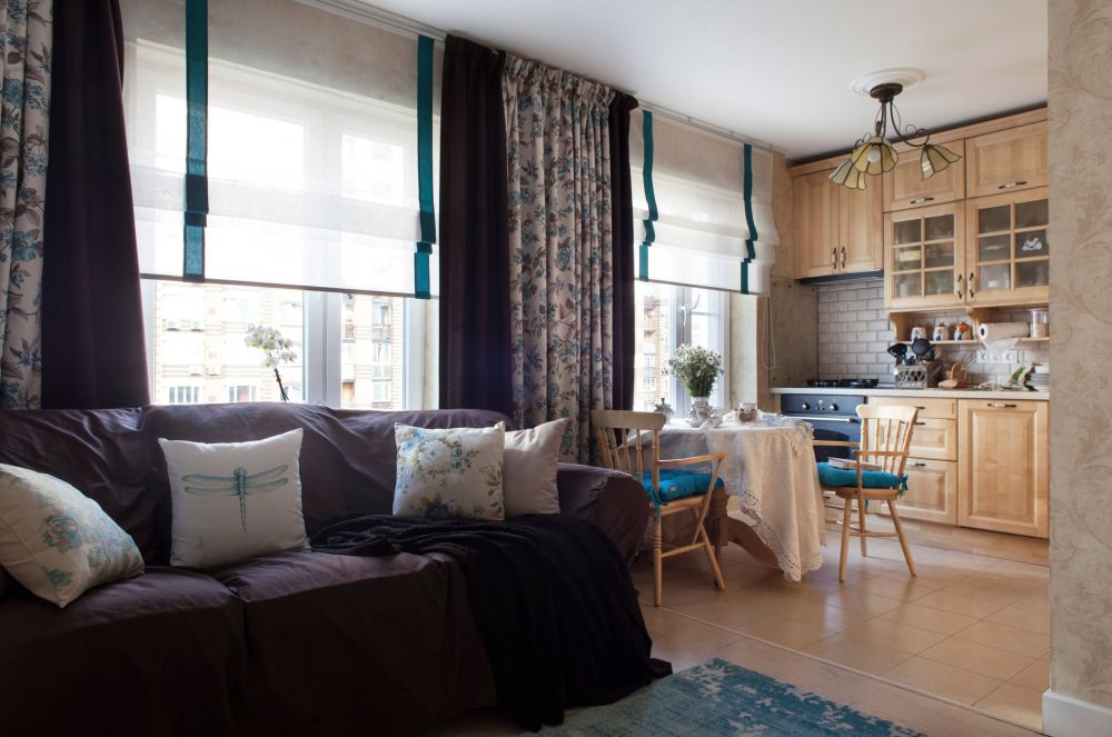 adelaparvu.com despre apartament 48 mp, stil provensal, Designer Svetlana Krasnova, Foto Natalia Kupriyanova (6)