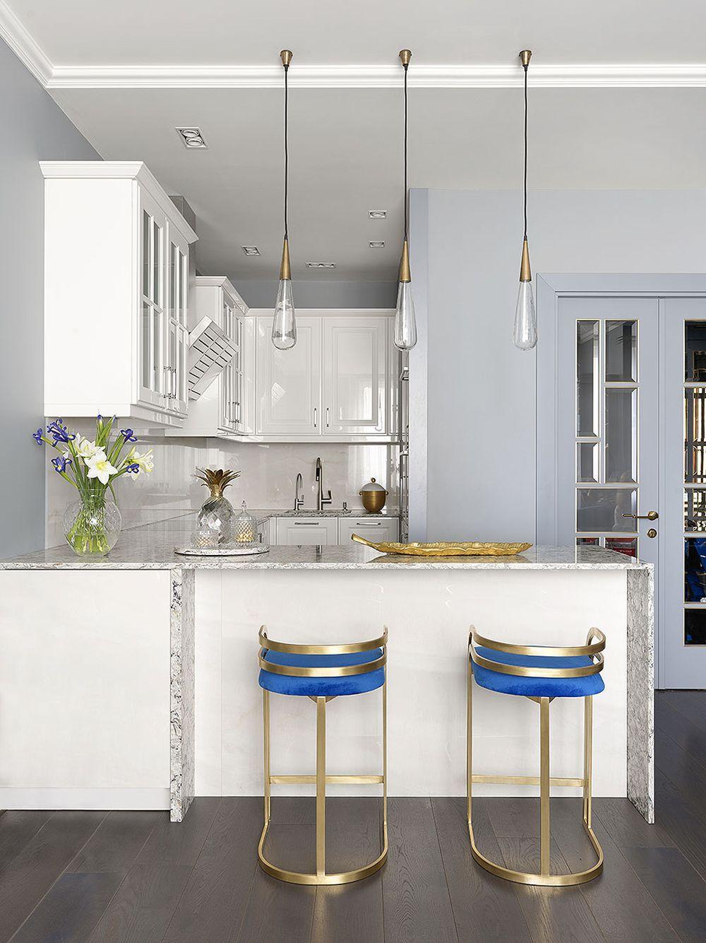 adelaparvu.com despre apartament elegant 90 mp, Moscova, designer Zhenya Zhdanova, Foto Maria Irinarkhova si Stephan Julliard (10)
