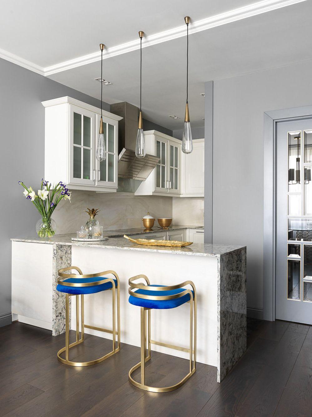 adelaparvu.com despre apartament elegant 90 mp, Moscova, designer Zhenya Zhdanova, Foto Maria Irinarkhova si Stephan Julliard (19)