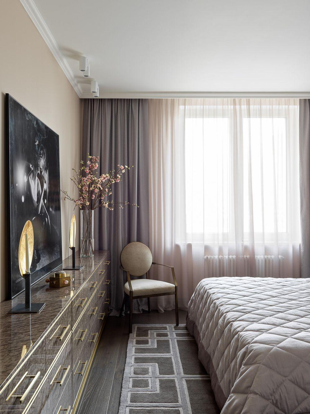 adelaparvu.com despre apartament elegant 90 mp, Moscova, designer Zhenya Zhdanova, Foto Maria Irinarkhova si Stephan Julliard (2)