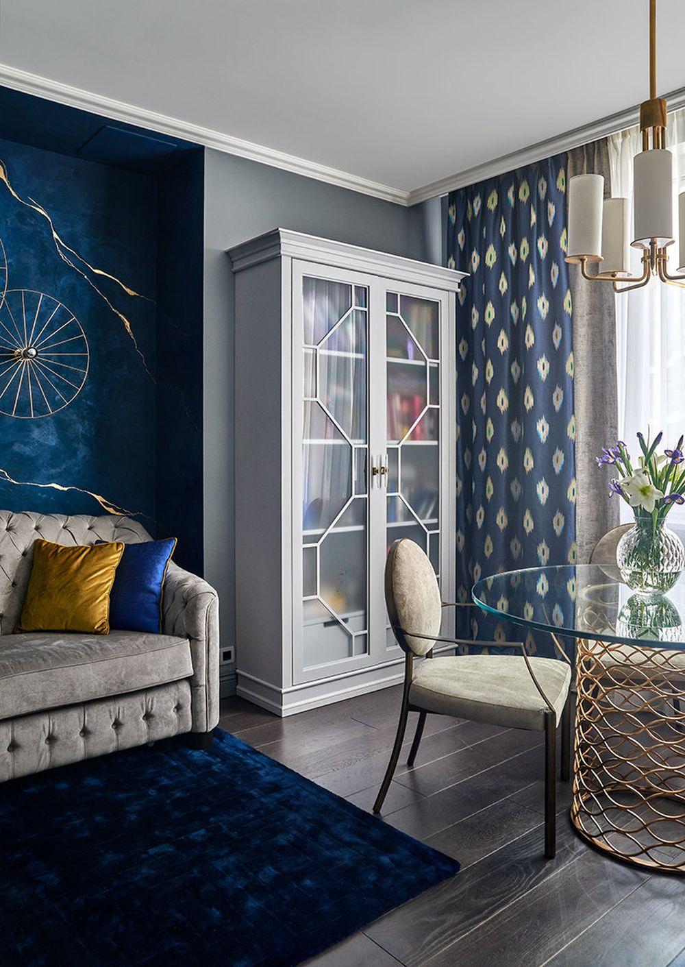 adelaparvu.com despre apartament elegant 90 mp, Moscova, designer Zhenya Zhdanova, Foto Maria Irinarkhova si Stephan Julliard (22)