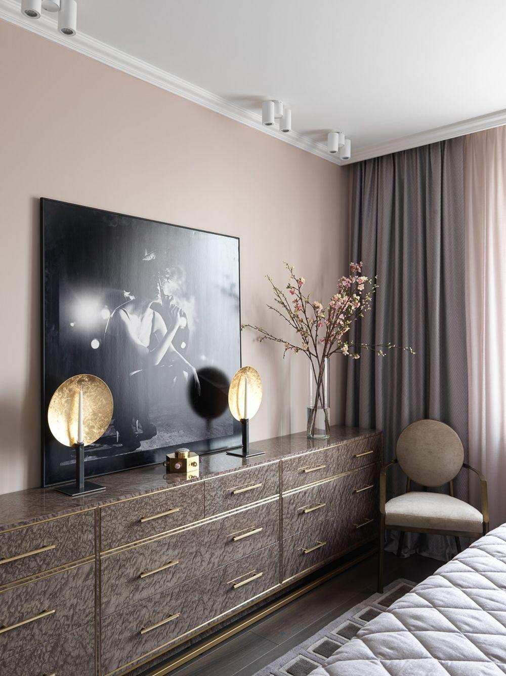 adelaparvu.com despre apartament elegant 90 mp, Moscova, designer Zhenya Zhdanova, Foto Maria Irinarkhova si Stephan Julliard (3)