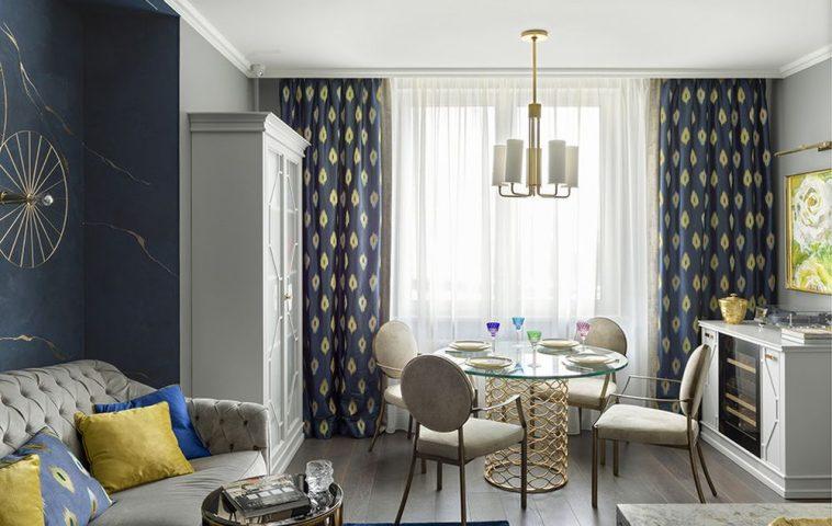 adelaparvu.com despre apartament elegant 90 mp, Moscova, designer Zhenya Zhdanova, Foto Maria Irinarkhova si Stephan Julliard (4)