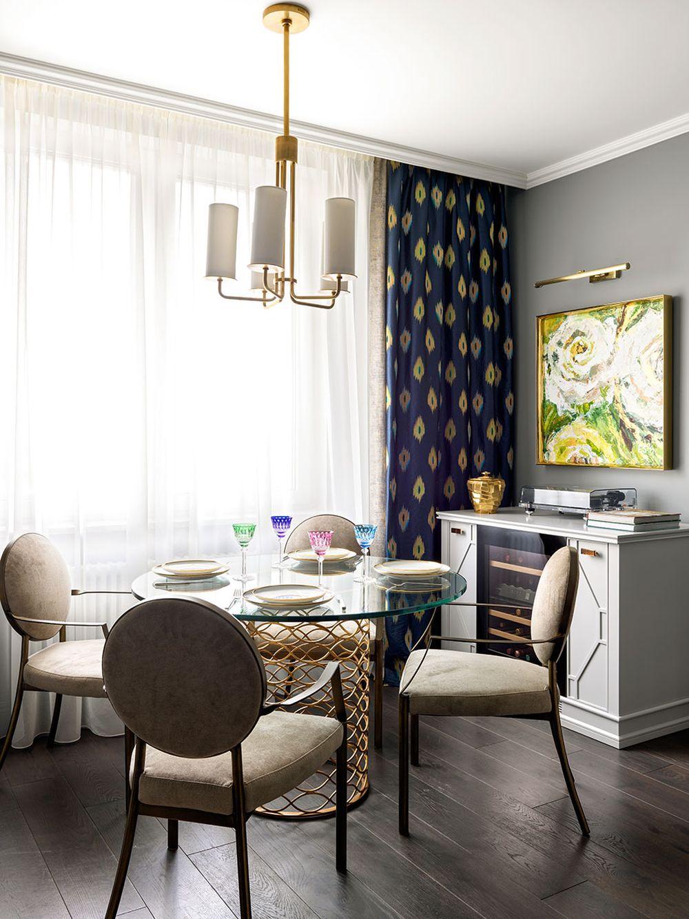 adelaparvu.com despre apartament elegant 90 mp, Moscova, designer Zhenya Zhdanova, Foto Maria Irinarkhova si Stephan Julliard (8)