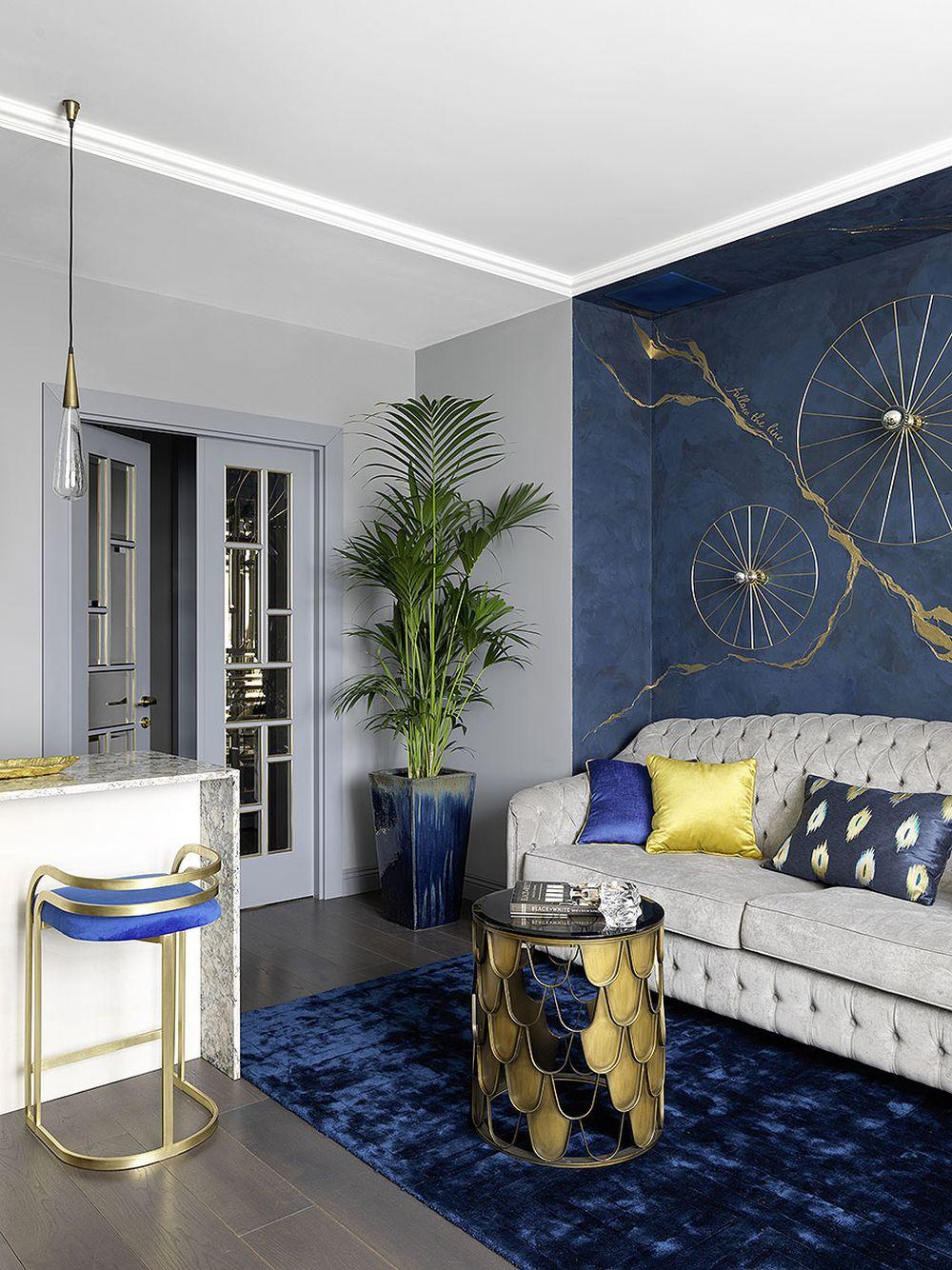 adelaparvu.com despre apartament elegant 90 mp, Moscova, designer Zhenya Zhdanova, Foto Maria Irinarkhova si Stephan Julliard (9)
