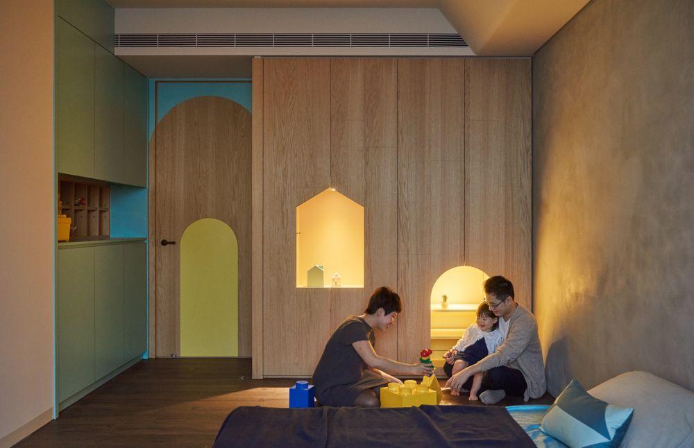 adelaparvu.com despre apartament in stil contemporan, Taiwan, design HAO Design (10)