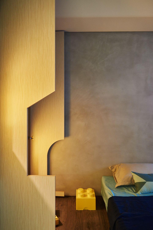 adelaparvu.com despre apartament in stil contemporan, Taiwan, design HAO Design (11)