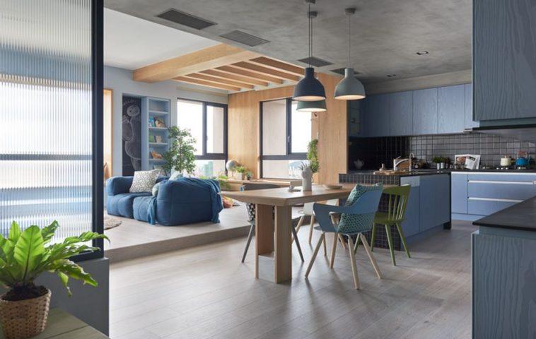 adelaparvu.com despre apartament in stil contemporan, Taiwan, design HAO Design (14)