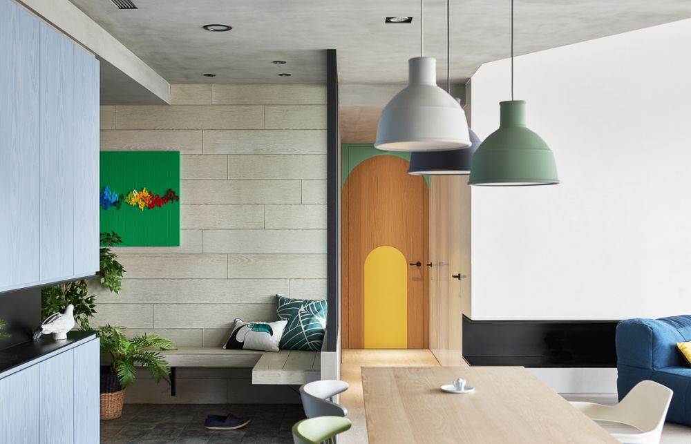 adelaparvu.com despre apartament in stil contemporan, Taiwan, design HAO Design (16)