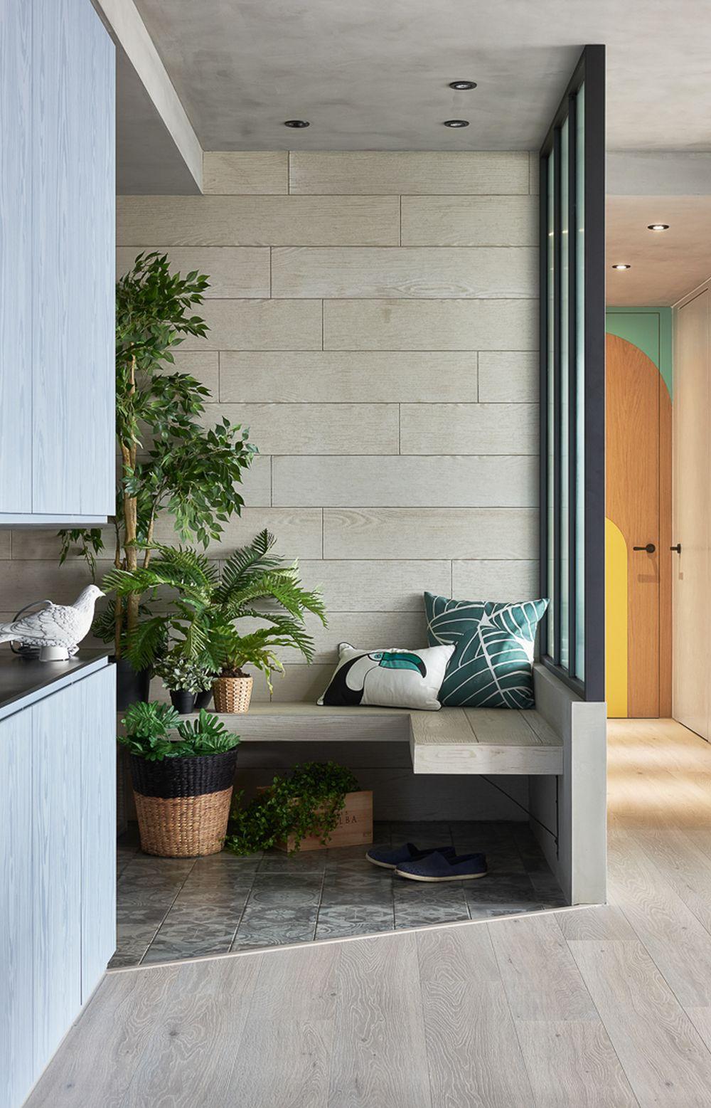adelaparvu.com despre apartament in stil contemporan, Taiwan, design HAO Design (7)