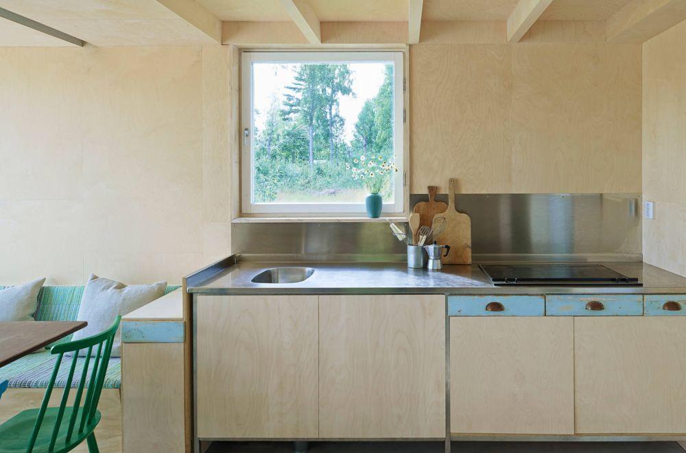 adelaparvu.com despre casa din lemn 85 mp, Suedia, Arhitect Leo Qvarsebo, Foto Lindman Photography (11)