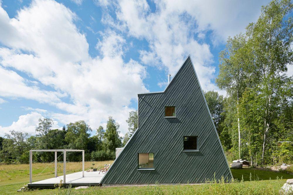 adelaparvu.com despre casa din lemn 85 mp, Suedia, Arhitect Leo Qvarsebo, Foto Lindman Photography (2)