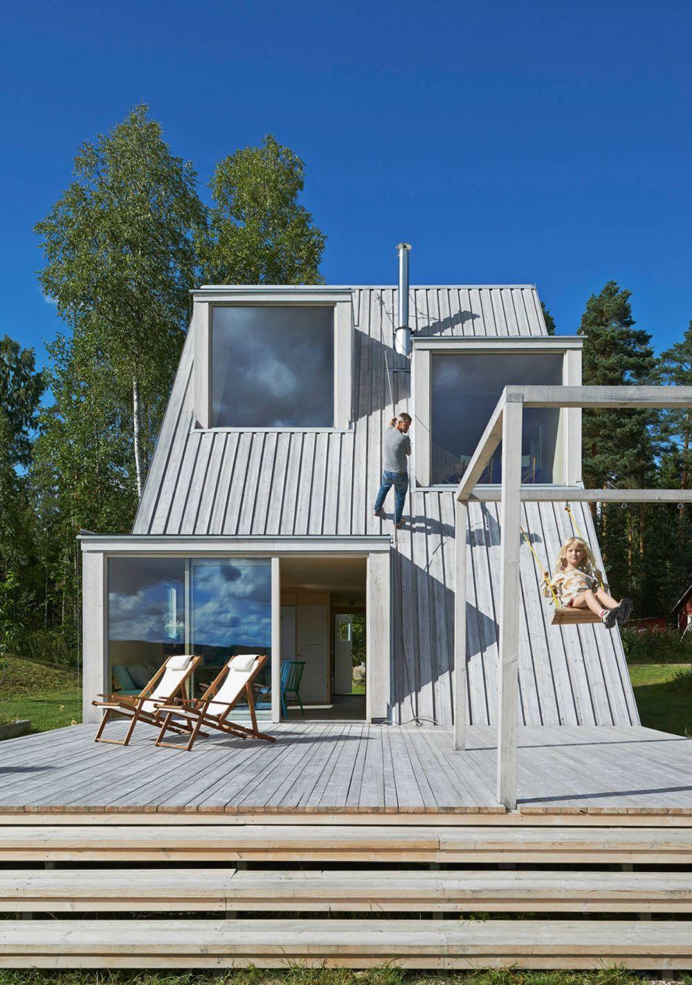 adelaparvu.com despre casa din lemn 85 mp, Suedia, Arhitect Leo Qvarsebo, Foto Lindman Photography (3)