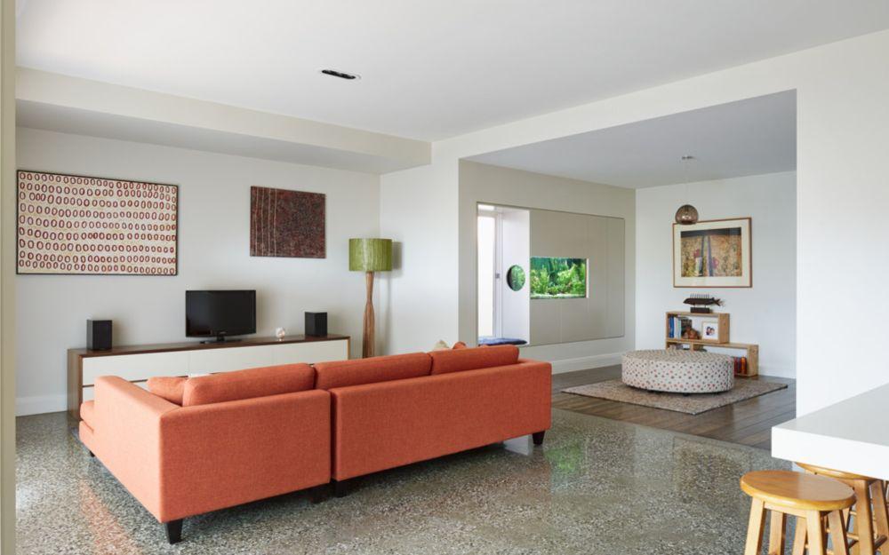 adelaparvu.com despre livinguri amenajate pentru disctractie parinti si copii, Foto Mesh Design Projects 2