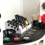 adelaparvu.com despre obiecte din viniluri, designeri Carmen si Florin Stoica, Vinilistic (8)