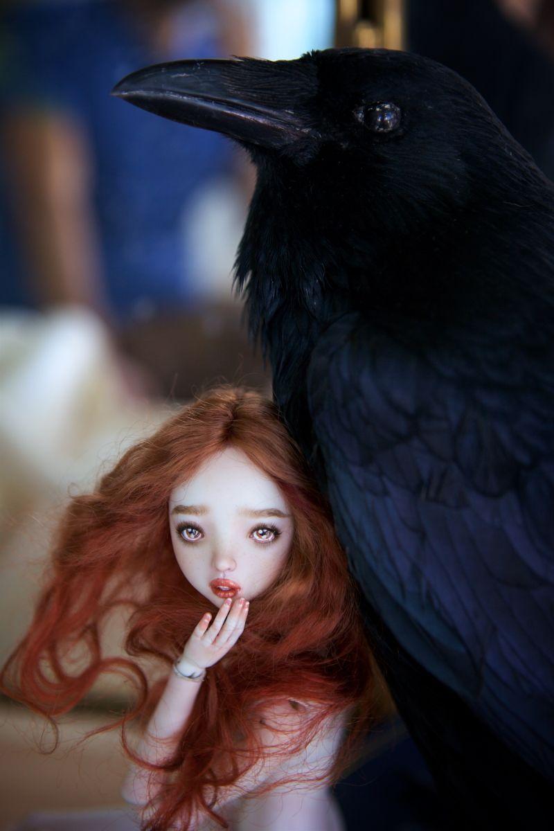 adelaparvu.com despre papusi din portelan, Enchanted Doll, artist Marina Bychkova (1)