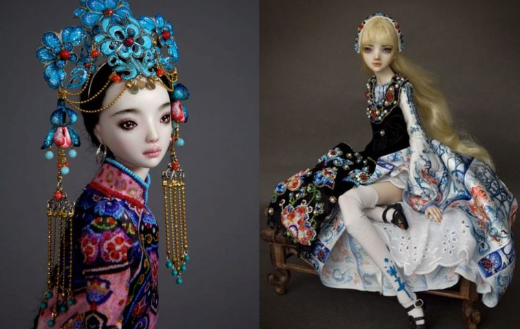 adelaparvu.com despre papusi din portelan, Enchanted Doll, artist Marina Bychkova (10)
