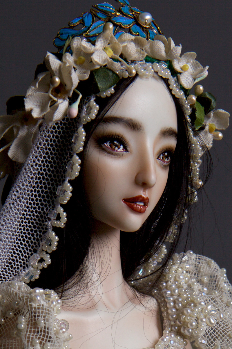 adelaparvu.com despre papusi din portelan, Enchanted Doll, artist Marina Bychkova (2)
