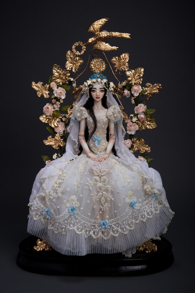 adelaparvu.com despre papusi din portelan, Enchanted Doll, artist Marina Bychkova (3)