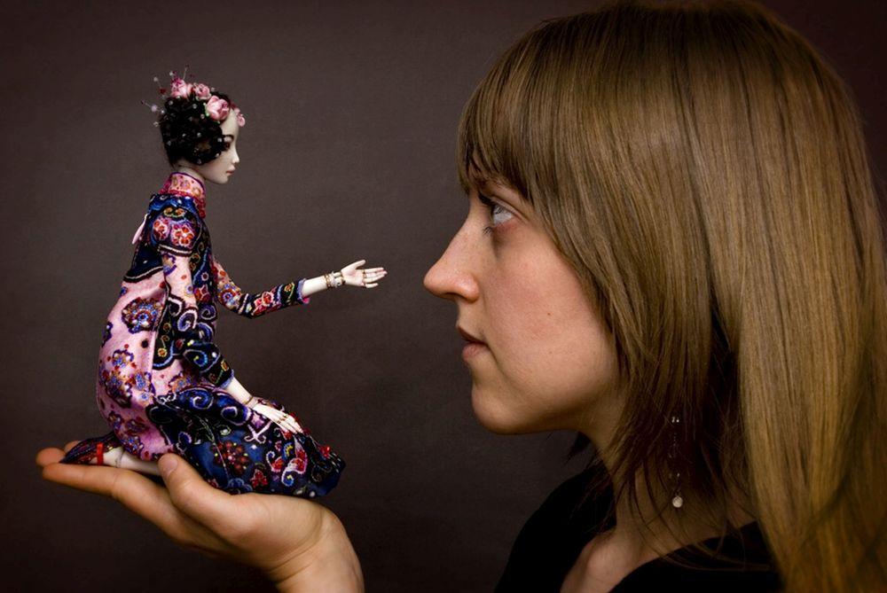 adelaparvu.com despre papusi din portelan, Enchanted Doll, artist Marina Bychkova (6)
