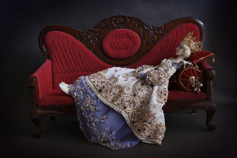 adelaparvu.com despre papusi din portelan, Enchanted Doll, artist Marina Bychkova, in Foto model agnetha12