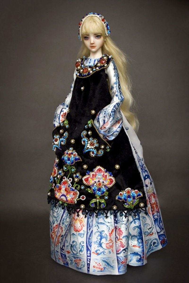 adelaparvu.com despre papusi din portelan, Enchanted Doll, artist Marina Bychkova, in Foto model alice (1)