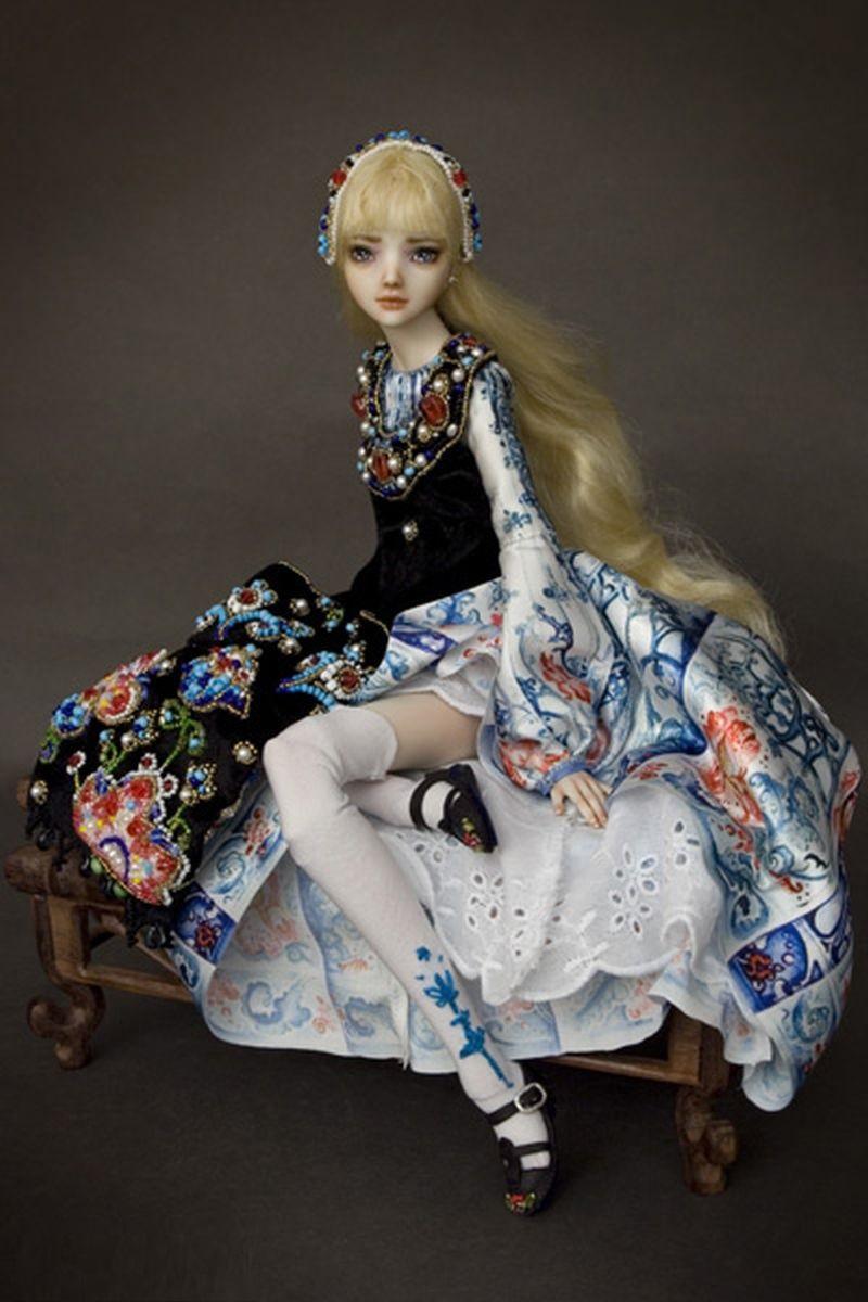 adelaparvu.com despre papusi din portelan, Enchanted Doll, artist Marina Bychkova, in Foto model alice (2)